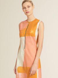 Sleeveless Zip Front Dress by DKNY at Macys