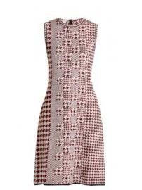 Sleeveless intarsia-knit wool dress at Matches