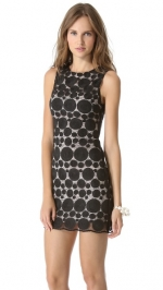 Sleeveless shift dress by Alice and Olivia at Shopbop