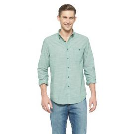 Slim Fit Solid Shirt at Target