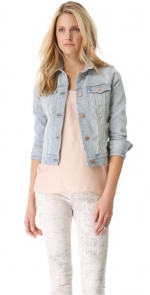 Slim fit denim jacket by J Brand at Shopbop