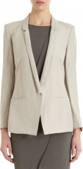 Slim lapel blazer by Helmut Lang at Barneys Warehouse