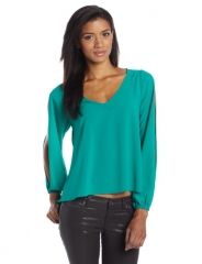 Slit sleeve blouse by Lovers and Friends at Amazon