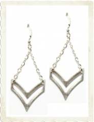 Sloan Chevron Earrings at Brooklyn Designs