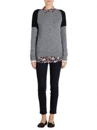 Sloan Colorblock Sweater at Equipment