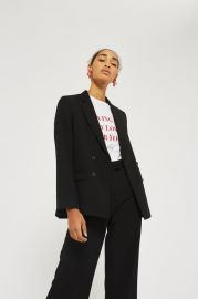 Slouch suit blazer at Topshop