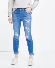 Slouchy Jeans at Zara