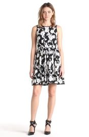 Smai NYC Floral Lace Skater Dress at Nordstrom