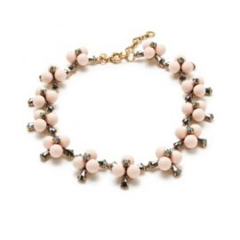 Small pop flower necklace at J. Crew
