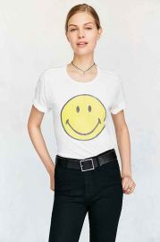 Smiley Face Tee at Urban Outfitters