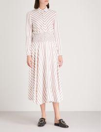 Smocked waist midi dress at Selfridges