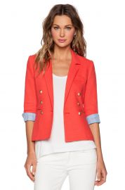 Smythe Rumpled College Blazer at Revolve