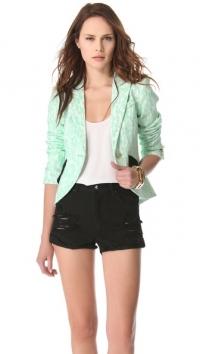 Smythe lace blazer at Shopbop