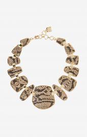Snake Plated Necklace at Bcbg
