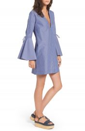 Socialite Bell Sleeve Shift Dress at Nordstrom