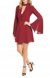 Socialite Harper Bell Sleeve Dress at Nordstrom