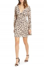 Socialite Print Button Dress at Nordstrom