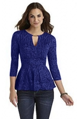 Sofia Vergara Red Chain Top in blue at K-Mart