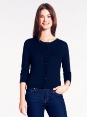 Sofia cardigan in black at Kate Spade