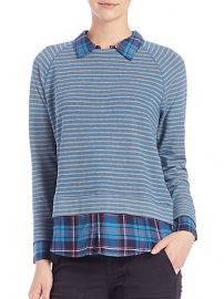 Soft Joie - Keala Layered Striped Sweater at Saks Fifth Avenue