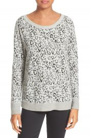 Soft Joie Annora Animal Print Sweater at Nordstrom
