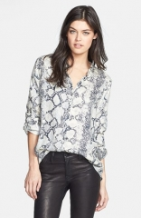 Soft Joie Dane Python Print Top at Nordstrom