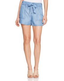 Soft Joie Mireille Chambray Shorts at Bloomingdales