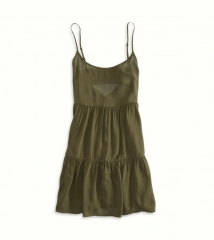 Soft Tiered Babydoll Dress at American Eagle