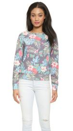 Sol Angeles Floral Sweatshirt at Shopbop
