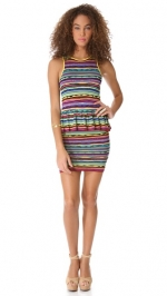 Solange Vintage Stripes dress by Torn by Ronny Kobo at Shopbop