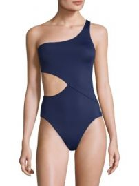 Solid and Striped - Claudia One-Shoulder One-Piece Swimsuit at Saks Fifth Avenue