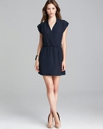 Solid wrap dress by Aqua at Bloomingdales