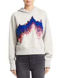Sonar Cotton Racer Hoodie by Rag Bone at Saks Fifth Avenue