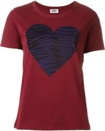 Sonia Rykiel Heart Tee at Nola Boutique