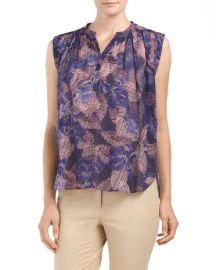 Sonic Garden Top by Rebecca Taylor at TJ Maxx