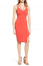 Soprano Strappy Body-Con Dress at Nordstrom