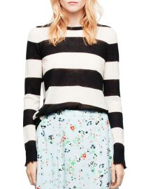 Source Stripe Cashmere Sweater at Bloomingdales