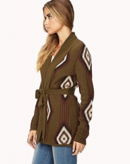 Southwestern Pattern Cardigan at Forever 21