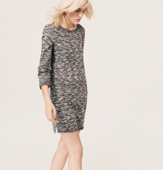 Space dye shift dress at Loft
