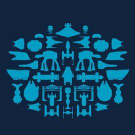 Spaceships Tshirt at Super 7