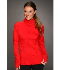 Spanx Active Contour Jacket  Red at Zappos