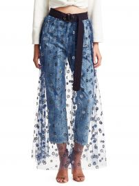 Sparkle Tulle Fetes Floral Overlay Skirt at Saks Fifth Avenue