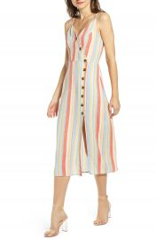 Speechless Stripe Side Button Sundress   Nordstrom at Nordstrom