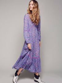 Spell Lilac Wildflower Maxi Dress at Free People