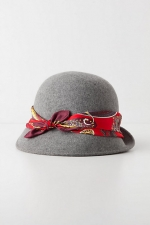 Spencer's cloche hat at Anthropologie