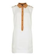 Spencers white long shirt at Ted Baker