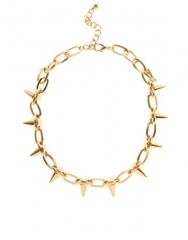 Spike Collar Necklace at Asos