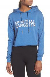Spiritual Gangster Varsity Hoodie Sweatshirt at Nordstrom