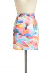 Splatter Quaint Skirt at ModCloth