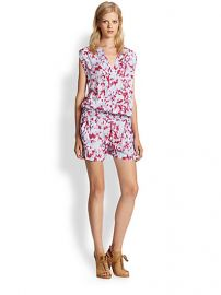 Splendid - Desert Rain Tie-Dye Short Jumpsuit at Saks Fifth Avenue